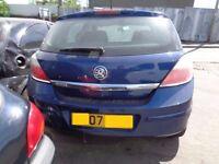 BREAKING --- Vauxhall Astra Life CDTI 1248CC 89BHP -------2007