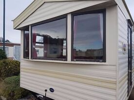 STATIC CARAVAN FOR SALE NORTH WALES SITE FEES £1995