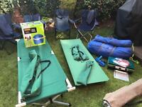 Outwell Hartford xxl tent and equipment