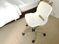 SWIVEL CHAIR HEIGHT ADJUSTABLE VERY STURDY & COMFY.