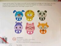 Boxed make you own finger puppets from John Lewis