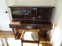George Russell Upright Piano