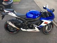 Suzuki GSXR600,L6, 30th anniversary model, Comes with Yoshimura R11 exhaust and lots more.