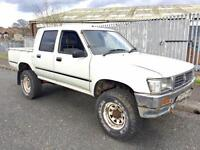 VERY LOW MILEAGE!! 1996 TOYOTA HILUX 2.8 PICKUP DIESEL MANUAL 4X4
