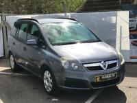 2006 Vauxhall Zafira 1.6, *7 Seater* Air Con Stamped Service History 12 Month Mot, 3 Month Warranty