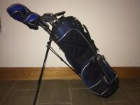 Bay Hill Golf clubs for sale with carry/ stand bag.