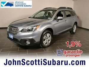 2015 Subaru Outback 2.5i Extended warranty 1.9%