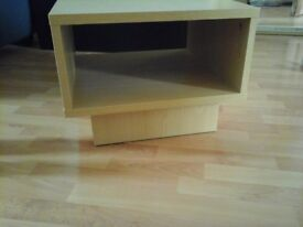 COFFEE/CUBE SIDE TABLE - AS NEW