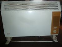 FREE Basic Electric Convector Heater 2500 watts British Made: GLEN 2176 Series A
