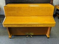 Fantastic Oak 'Knight K10' Compact Upright Piano - CAN DELIVER