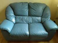 Two seater sofa and sofa chair