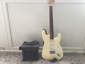 Squire Stratocaster Electric Guitar