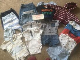0-3 months boys baby clothes