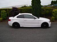 2008 BMW 120D M-SPORT COUPE * AUTO * 1 OFF CAR OVER 6K OF EXTRAS * 320D CLK MERCEDES AUDI