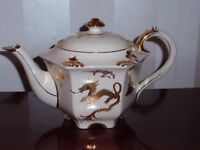 Sadler Golden Dragon Teapot