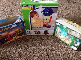 ELC Bits and Bobs Build it and 2 x puzzles £5