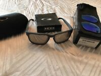 Oakley Holbrook Sunglasses with 2 pairs of lenses