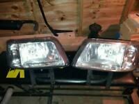 VW t5 head lights