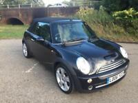 2006 Black Mini Cooper Convertible Automatic Low Mileage