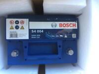BOSCH S4 004 12v Car Battery - New