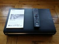 Sony RDR-HXD770 DVD & HDD Hard Drive Recorder, HDMI, Freeview, Full HD 1080P output