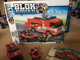 Mega bloks Fire patrol rescue set