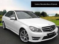 Mercedes-Benz C Class C220 CDI AMG SPORT EDITION PREMIUM PLUS (white) 2014-03-13