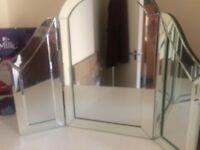 1920s style dressing table mirror for sale - must go!