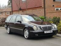 "Mercedes E430 AMG Estate (2001/Y Reg) + 7 SEATER + 4.3 V8 + 275 BHP + SAT NAV + HIGH SPEC + 19"" AMG"