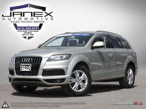 2014 Audi Q7 TDI Technik ACCIDENT FREE | ONE OWNER | NAVI | R...