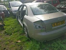 Audi a4 2.0 breaking for parts