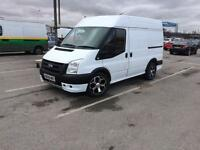 Ford transit swb 08 plate alloys and sports kit