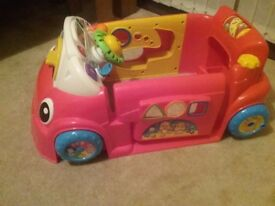 Red Fisherprice Car