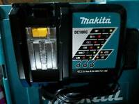 Makita DC18RC 7.2V - 18V LXT Lithium Ion 22-Minute Fast Charger GENUINE 240V