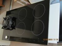 Atag Gas Induction Hob - Black - Ex Display - Never Used