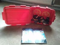 Red Tub of Knex, Perfect Xmas Stocking Filler