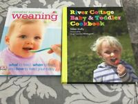 The best two weaning books! Annabelle Karmel and River Cottage