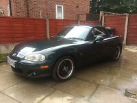 Mazda MX5 MK2 53 plate 1.8 SVT Sport 6 Speed with LSD.