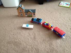 Track master Thomas the tank engine birthday set