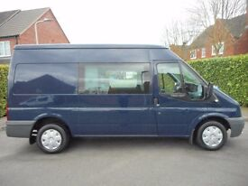 FINANCE AVAILABLE!! NO VAT!! Ford Transit 110 bhp 6 seat crew van looks and drives superb!!