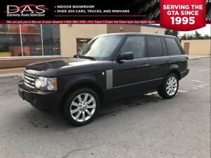 2009 Land Rover Range Rover HSE NAVIGATION/LEATHER/SUNROOF