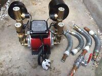 Grundfos STN-2.0B Twin Impeller Shower Pump 96787505