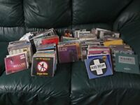 JUST OVER 200 CD SINGLES MOSTLY 90'S PLUS A FEW CD ALBUMS. ALL IN PERFECT CONDITION.