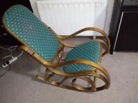 bentwood rocking chair GREEN