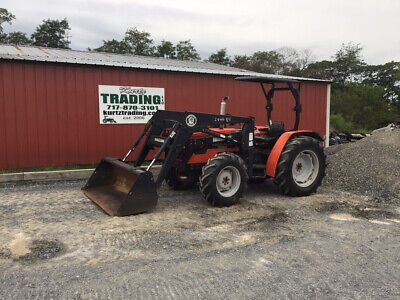 1998 Agco Allis 5650 4x4 Utility Tractor W Loader Clean One Owner Only 2800hrs