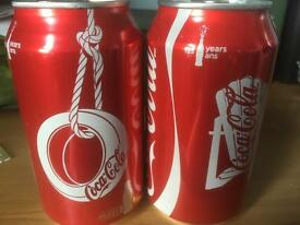 125 years of coke limited edition cans