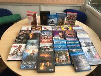 DVDs 68 + 4 box sets