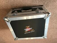 Miller genuine draft Aluminium penn Elcom flight case