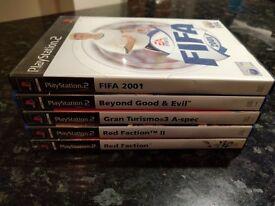 PS2 Games X 5 - Job Lot. Grab A Bargain!