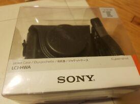 Unopened Sony camera case